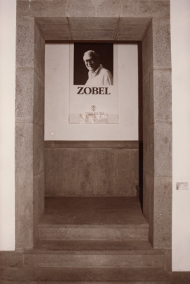 Vista parcial de la exposición Fernando Zóbel, 1985