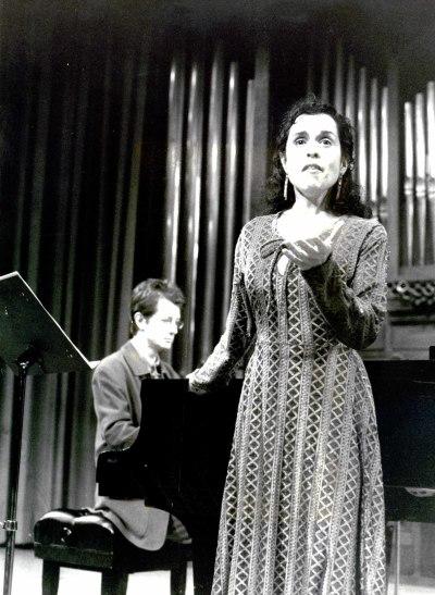 Mercedes Díaz Chópite y David Ruiz Gayo. Recital de canto y piano - Dos centenarios: Rafael Rodríguez Albert y Antonio José Martínez Palacios