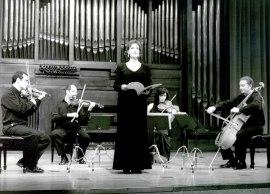 Cuarteto Picasso y Julia Ruiz Muñoz. Concierto El cuarteto iberoamericano , 2002