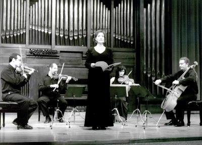 Cuarteto Picasso y Julia Ruiz Muñoz. Concierto El cuarteto iberoamericano