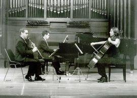 Cecilia de Montserrat, Javier Prieto y José Ramón Alonso. Recital de música de cámara , 2002