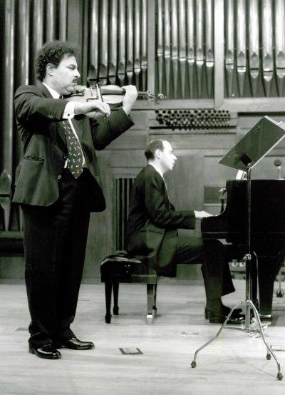 Farhad Sohrabi y José Ignacio Díaz. Recital de violín y piano