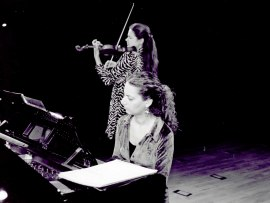 Tatiana Samouil y Irini Gaitani. Recital de violín y piano , 2002