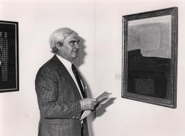 Salvador Victoria. Exposición Arte español en Nueva York 1950-1970 Colección Amos Cahan, 1986
