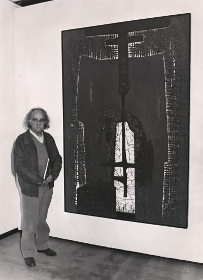Salvador Soria. Exposición Arte español en Nueva York 1950-1970 Colección Amos Cahan