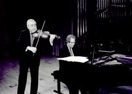 Víctor Martín y Agustín Serrano. Concierto Sonatas románticas para violín y piano , 2002