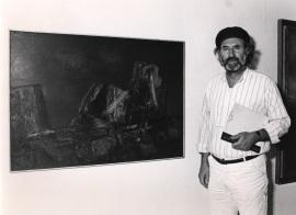Enrique Gran. Exposición Arte español en Nueva York 1950-1970 Colección Amos Cahan, 1986