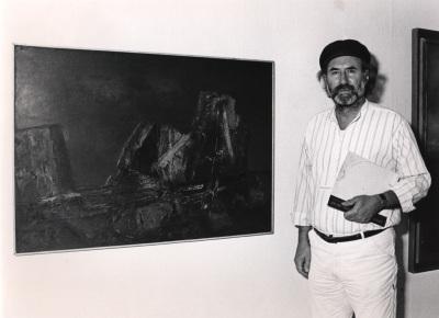 Enrique Gran. Exposición Arte español en Nueva York 1950-1970 Colección Amos Cahan