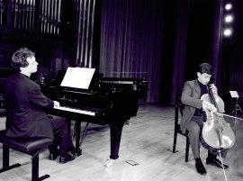 Alejandro Friedhoff y Vincent Planés. Recital de violonchelo y piano , 2002