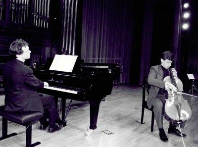 Alejandro Friedhoff y Vincent Planés. Recital de violonchelo y piano