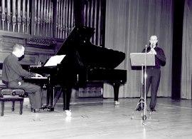 Joan Borrás y Alberto Rosado. Recital de clarinete y piano , 2002