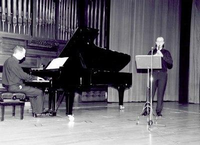 Joan Borrás y Alberto Rosado. Recital de clarinete y piano