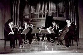 Cuarteto Hemera. Concierto Schumann-Brahms: cuartetos y quintetos con piano , 2002