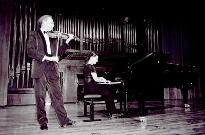 Andrey Chestiglazov y Amalia Zipitria. Recitales para Jóvenes