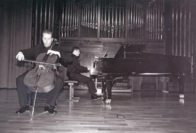 Ángel García Jerman y Duncan Gifford. Recitales para Jóvenes