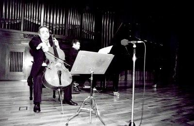 Hamid Kazerani y Juan Carlos Martínez. Recital de violonchelo y piano