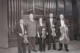 """Tomás Marco y Cuarteto Arcana. Concierto """"Homenaje a Tomas Marco. 60 años."""" - Aula de (Re)estrenos (44) , 2002"""