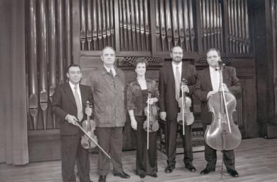 """Tomás Marco y Cuarteto Arcana. Concierto """"Homenaje a Tomas Marco. 60 años."""" - Aula de (Re)estrenos (44)"""