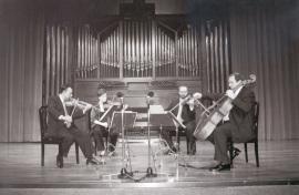 """Cuarteto Arcana. Concierto """"Homenaje a Tomas Marco. 60 años."""" - Aula de (Re)estrenos (44) , 2002"""