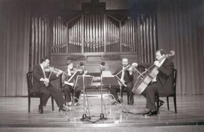 """Cuarteto Arcana. Concierto """"Homenaje a Tomas Marco. 60 años."""" - Aula de (Re)estrenos (44)"""