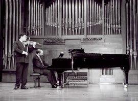 Joaquín Torre y Kennedy Moretti. Recital de violín y piano , 2002
