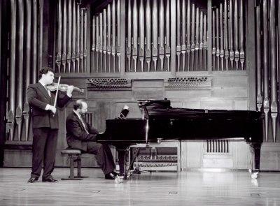 Joaquín Torre y Kennedy Moretti. Recital de violín y piano