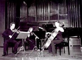 Trío Siglo XXI. Recital de música de cámara , 2002