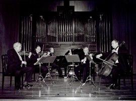 Manuel Guillén, Víctor Martín, Emilio Mateu y Ángel Luis Quintana. Concierto Centenario del nacimiento de Ángel Martín Pompey - Aula de (Re)estrenos (45) , 2002