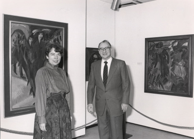 Sabine Fehlemann y Guido Brunner. Exposición De Marées a Picasso: Obras maestras del museo Wuppertal