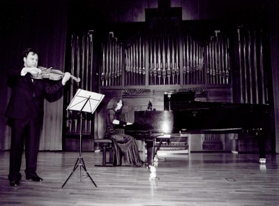 Carlos Luis Barriga y Marleen van de Zande. Recital de viola y piano
