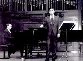 Antonio García Quijada y Fernando Turina. Recital de canto y piano , 2003