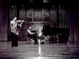 Irene Echeveste y Amalia Zipitria. Recital de violín y piano , 2003