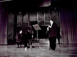 Julián Poyatos y Carlos Domínguez. Recital de clarinete y piano , 2003
