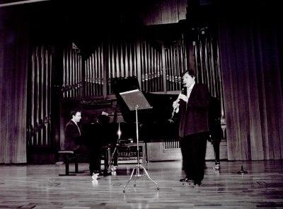 Julián Poyatos y Carlos Domínguez. Recital de clarinete y piano