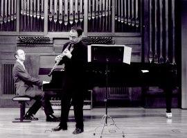 Salvador Barberá y Francisco Pérez Sánchez. Concierto Alrededor del oboe, 2003
