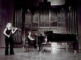 Rocío León y Isabel Puente. Recital de violín y piano , 2003