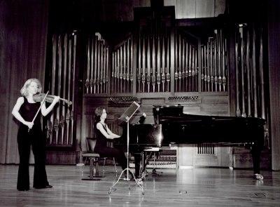 Rocío León y Isabel Puente. Recital de violín y piano