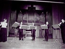 Juana Guillem, Antonio Arias Gago, José Oliver, José Sotores y Miguel Ángel Angulo. Concierto Flautas, del barroco al siglo XX , 2003
