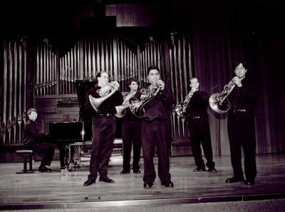 Grupo de Trompas de la Escuela Superior de Música Reina Sofía y Graham Jackson. Recital de trompa y piano