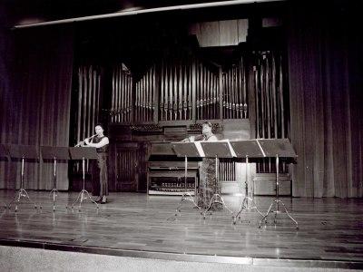 Juana Guillem y María Antonia Rodríguez. Concierto Flautas, del barroco al siglo XX