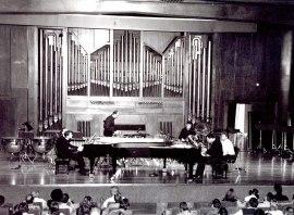 Neopercusión Centro, Duncan Gifford y José Gallego. Concierto Alrededor de la percusión , 2003