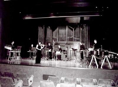 Neopercusión y Minjung Cho. Concierto Alrededor de la percusión (2003)