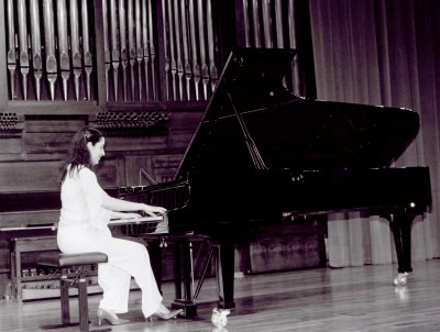 Fabiane de Castro. Recital de piano