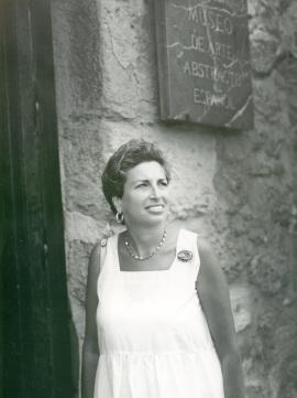 Rhoda Cahan. Exposición Arte español en Nueva York 1950-1970 Colección Amos Cahan, 1987