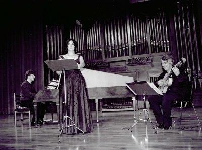 Pilar Jurado, Felipe Sánchez y Toni Millán. Concierto El patrimonio musical español