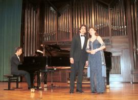 Sylvia Schwartz, Marco Schwartz y Julio Alexis Muñoz. Recital de canto y piano , 2003
