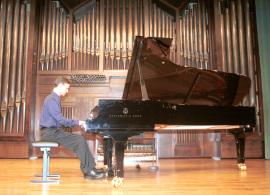 Jordi Pellicer. Recital de piano , 2003
