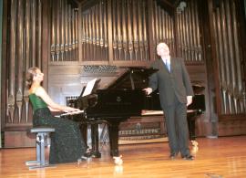 Irene Gaitani y Manuel Cid. Concierto Hugo Wolf en su centenario, 2003