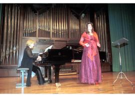 Ana Häsler y Chiky Martín. Concierto Hector Berlioz: dos siglos , 2003