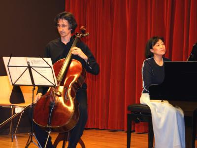 Luis Miguel Correa y Rumiko Harada. Recitales para Jóvenes